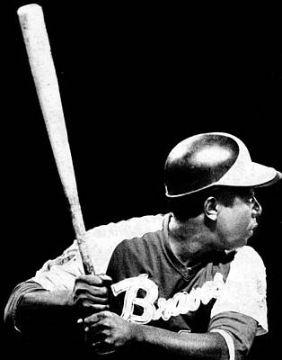 Hank Aaron Poster by Retro Images Archive