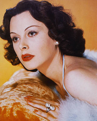 Hedy Lamarr Poster by Silver Screen