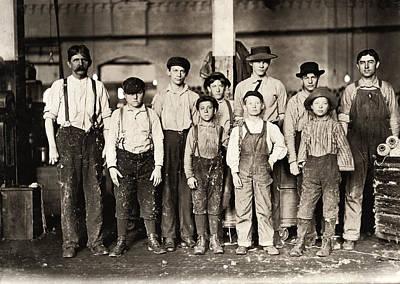 Hine Child Labor, 1909 Poster