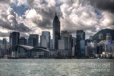 Poster featuring the photograph Hong Kong Harbour by Joe  Ng