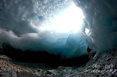 Ice Cave, Switzerland Poster by Dr Juerg Alean