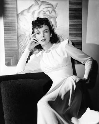 Ida Lupino, Warner Bros. Portrait Poster by Everett