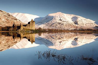 Loch Awe Poster by Grant Glendinning