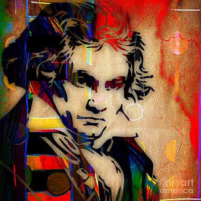 Ludwig Van Beethoven Collection Poster