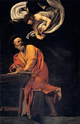 Merisi Michelangelo Known Poster by Everett