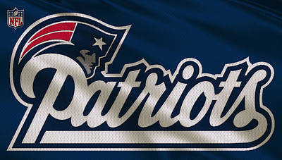 New England Patriots Uniform Poster
