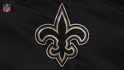 New Orleans Saints Uniform Poster by Joe Hamilton