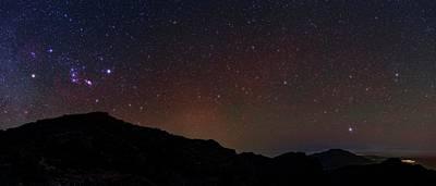 Night Sky Over La Palma Poster