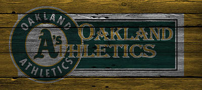 Oakland Athletics Poster by Joe Hamilton