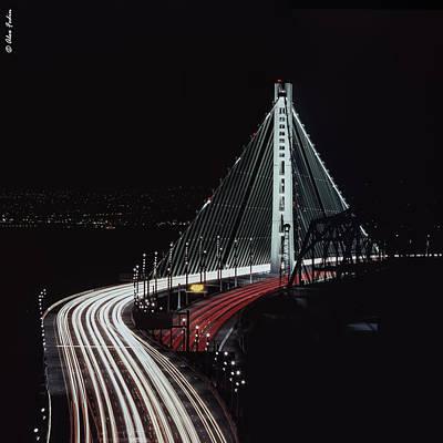 Oakland Bridge Poster