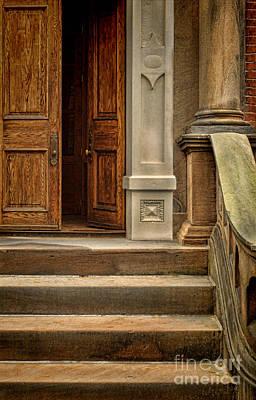 Open Door Poster by Jill Battaglia