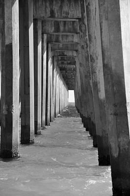 Pensacola Beach Pier Poster