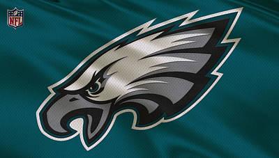 Philadelphia Eagles Uniform Poster by Joe Hamilton