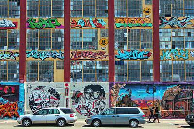 5 Pointz Graffiti Art 10 Poster