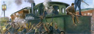Pullman Strike, 1894 Poster by Granger