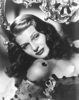 Rita Hayworth, Columbia Portrait Poster by Everett