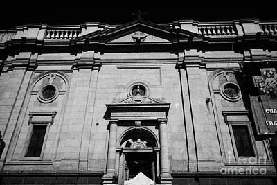 Santiago Metropolitan Cathedral Chile Poster