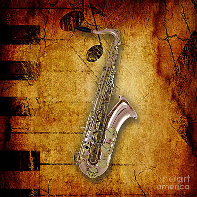 Saxophone Collection Poster