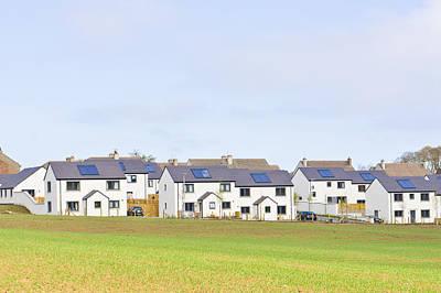 Scottish Houses Poster by Tom Gowanlock