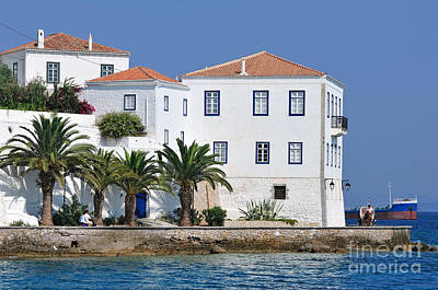 Spetses Town Poster