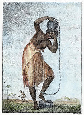 Surinam Punishment, 1796 Poster by Granger