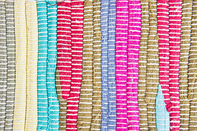 Textile Pattern Poster by Tom Gowanlock