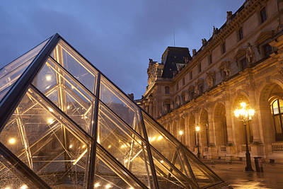 The Louvre Paris Poster