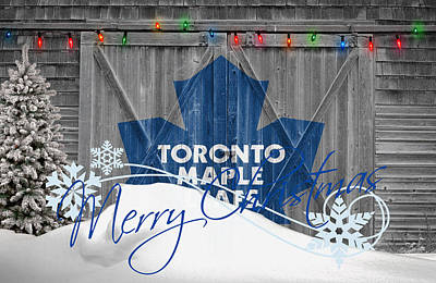 Toronto Maple Leafs Poster by Joe Hamilton