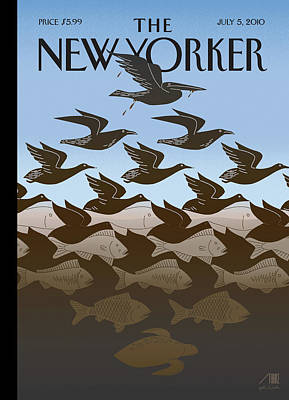 New Yorker July 5th, 2010 Poster by Bob Staake