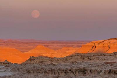 Usa, South Dakota, Badlands National Poster by Jaynes Gallery