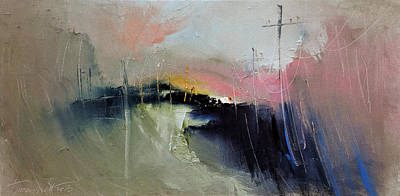 Way Home Serie Poster by David Figielek