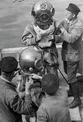 Willi Ruge Underwater Photos Poster