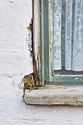 Window Frame Poster by Tom Gowanlock