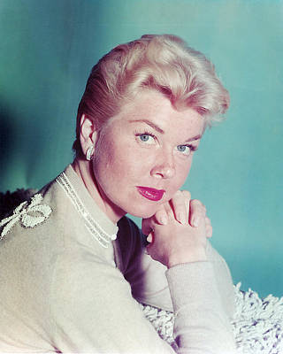Doris Day Poster by Silver Screen