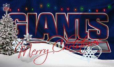 New York Giants Poster by Joe Hamilton