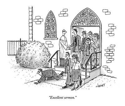 Excellent Sermon Poster