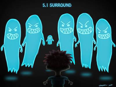 5.1 Surround Poster