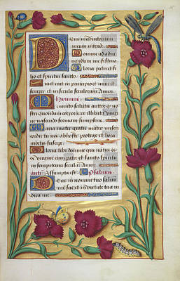 Book Of Hours Poster by British Library
