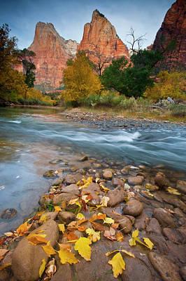 Usa, Utah, Zion National Park Poster