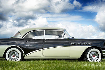56 Buick Century Riviera Hdr Poster by Tim Gainey