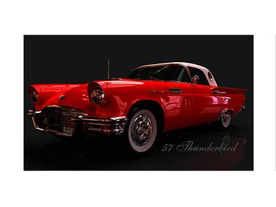 57 Thunderbird Poster