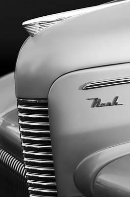 1940 Nash Sedan Grille  Poster by Jill Reger