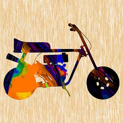 1960s Mini Bike Poster by Marvin Blaine