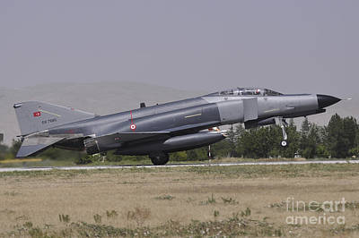 A Turkish Air Force F-4e 2020 Poster