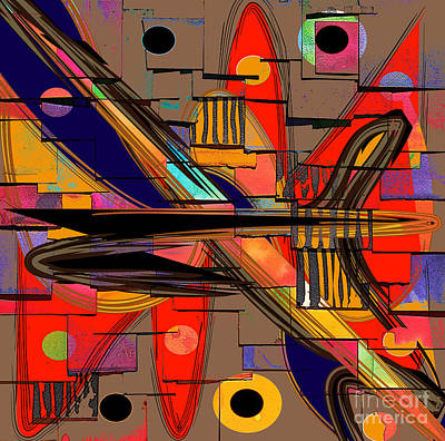 Abstract Art Collection Poster by Marvin Blaine