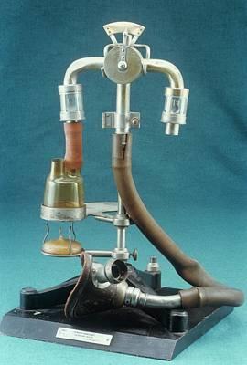 Anaesthetic Inhaler Poster