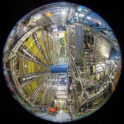 Atlas Detector Poster by Babak Tafreshi