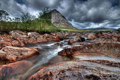 Buachaille Etive Mor Poster by Fiona Messenger