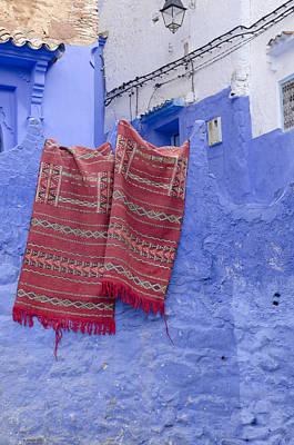 Chefchaouen Morocco Poster by Martin Turzak