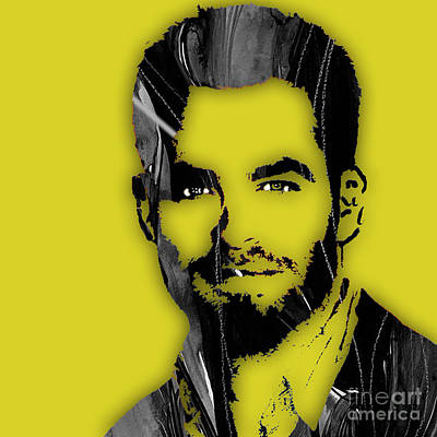 Chris Pine Collection Poster